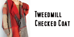 Tweedmill Checked Coat