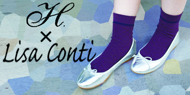 H × LISA CONTI Ballet Shoes (SL)